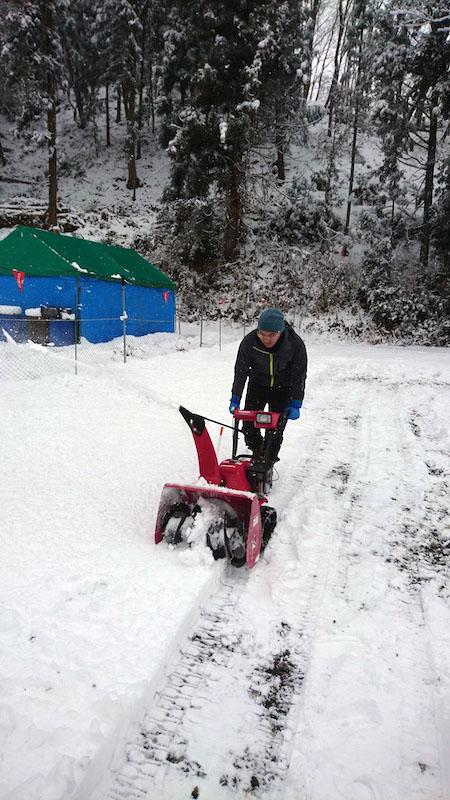 除雪作業01